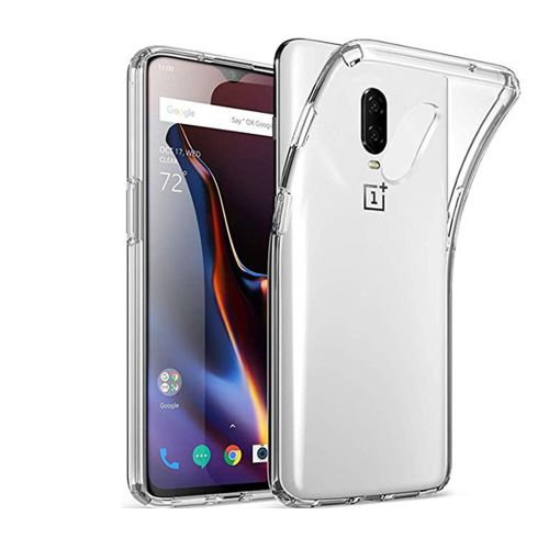 Vultic OnePlus 6T Case - Soft Slim TPU [Crystal Clear] Transparent Protective Back Cover for OnePlus 6T (Clear)
