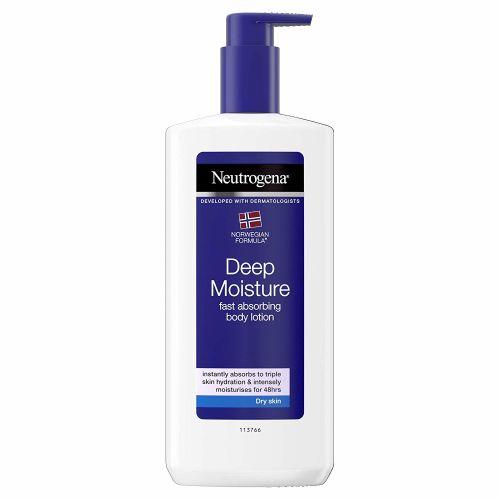 Neutrogena Deep Moisture Fast  Absorbing Body Lotion 400 ml