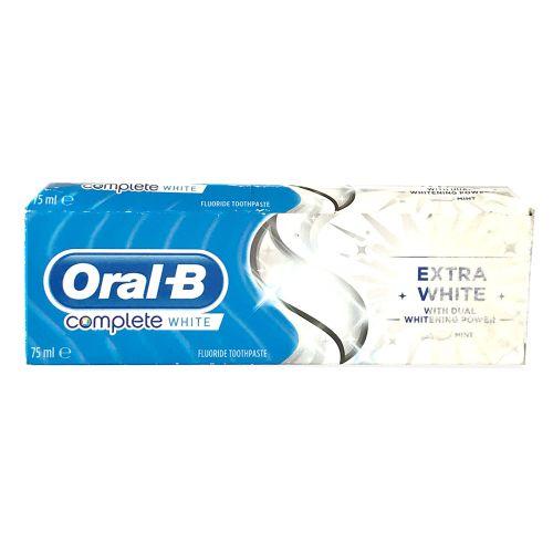 Oral-B Complete Extra White Toothpaste 75ml / 100ml