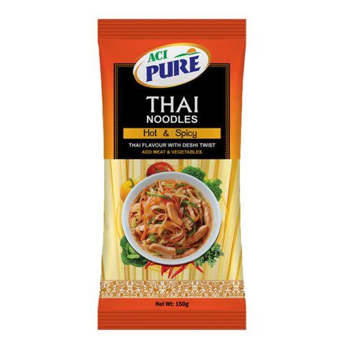 ACI Pure Thai Noodles Hot & Spicy 150g