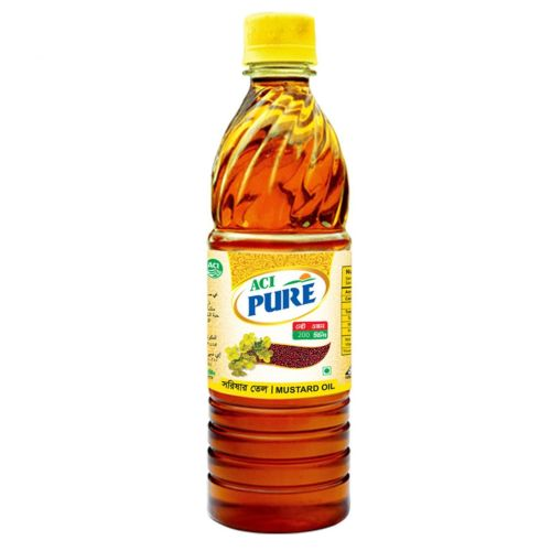 ACI Pure Mustard Oil 200ml / 500ml / 1 ltr PET
