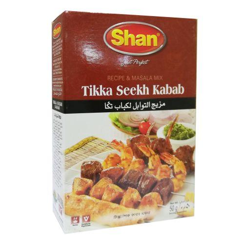 Shan Tikka Seekh Kabab Masala Ready Mix 50g