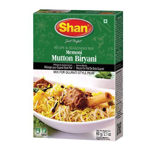 Shan Memoni Mutton Biryani Masala Ready Mix 60g