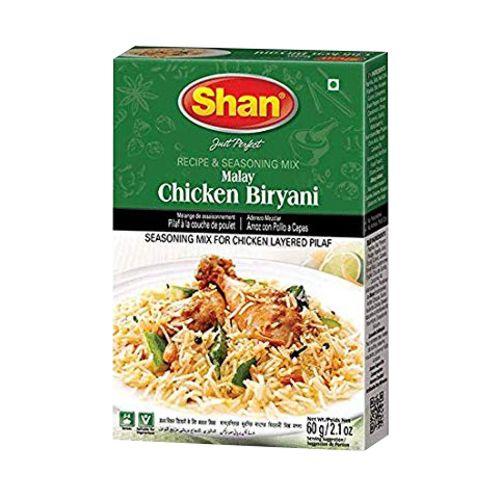 Shan Malay Chicken Biryani Masala Ready Mix 60g