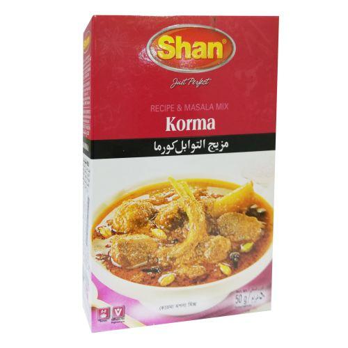 Shan Korma Curry Masala Ready Mix 50g