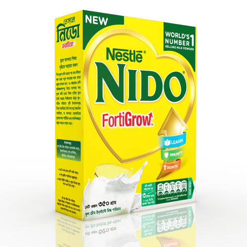 Nestle NIDO FortiGrow Milk Powder Refill Pack 350g / 700g  & Tin 900g / 2.5 kg