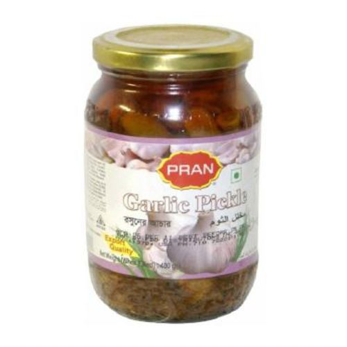 Pran Garlic Pickle Glass Jar 400g