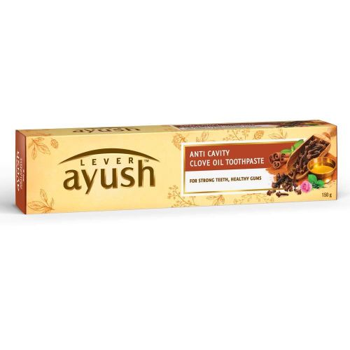 Lever Ayush Anti Cavity Clove Oil Toothpaste 80g / 150g