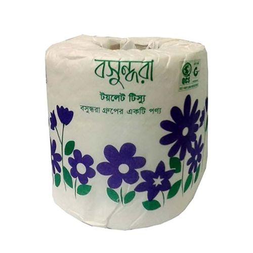 Bashundhara Toilet Tissue Paper Roll - Regular White