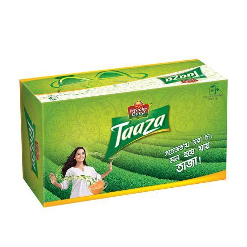 Brooke Bond Taaza Black (Pack of 50) Tea Bags
