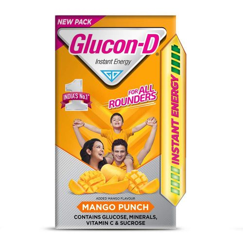 Glucon-D Mango Flavoured Glucose Based Beverage Mix 400g