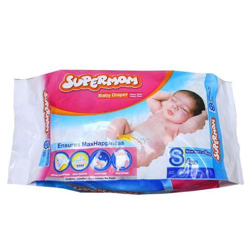 Supermom Baby Diaper Small New Born-8kg S 4 pcs