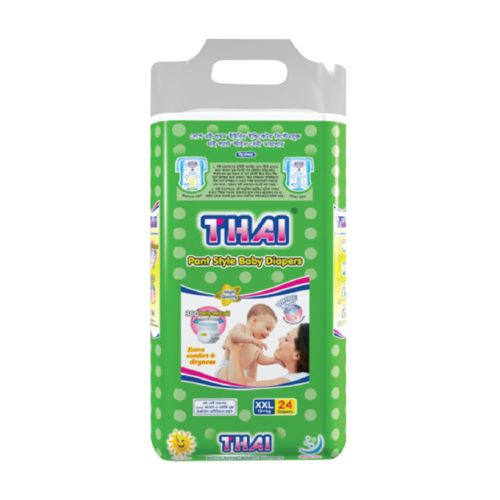 Thai Baby Diapers (Pant Style) XXL (18+ kg) 24pcs