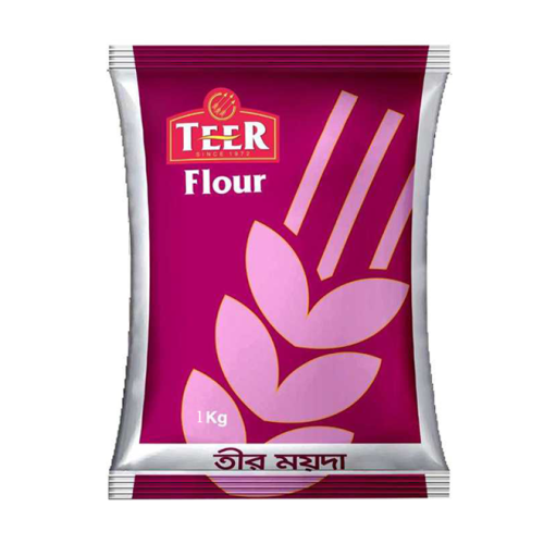Teer Maida Pack (White Wheat Flour) 1 kg / 2 kg