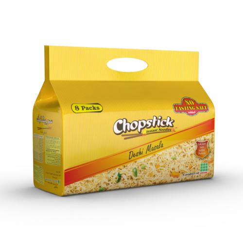 Chopstick Deshi Masala Instant Noodles 4-Packs 248g  / 8-Packs 496g
