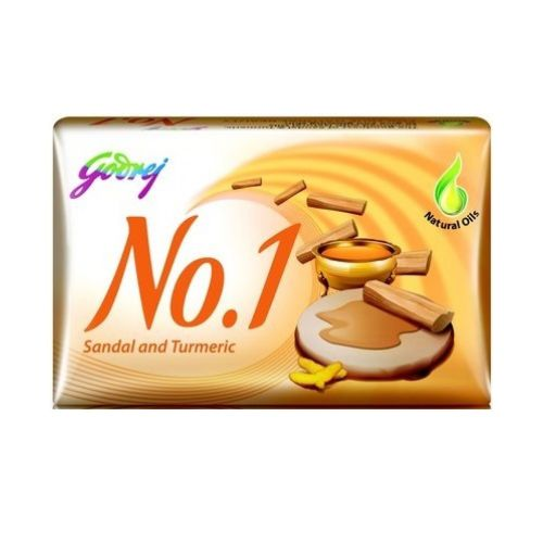 Godrej No.1 Lime & Aloe Vera/ Sandal & Turmeric Bar Soap 100g