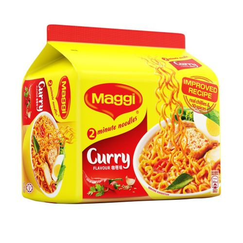 Maggi 2 Minutes Curry Noodles 248g / 496g