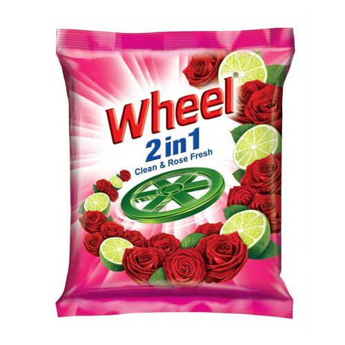 Wheel Washing Powder 2in1 Clean & Rose 500g