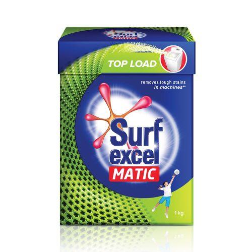 Surf Excel Powder Matic Top Load Machine Detergent Powder 1kg