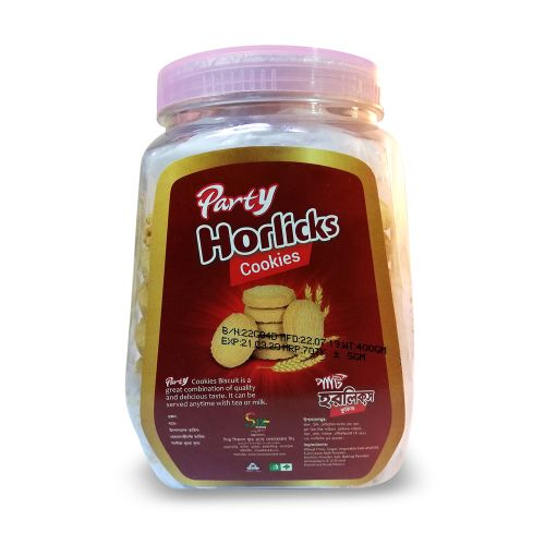 Party Horlicks Cookies Biscuit 400g