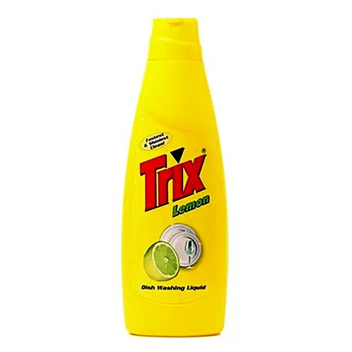 Trix Lemon Dish Washing Liquid Lemon Refill Pouch 250ml / Bottle 500ml