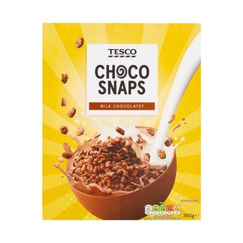 Tesco Choco Snaps Cereal 350g
