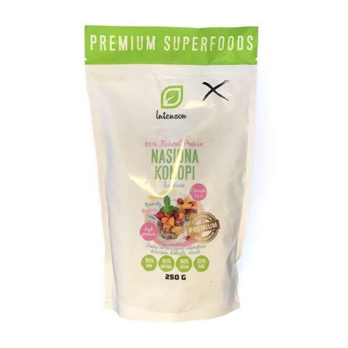 Intenson Nasiona Konopi Premium Superfoods 250g