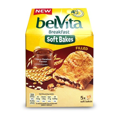 Belvita Breakfast Soft Bakes Biscuits Filled Strawberry  250g