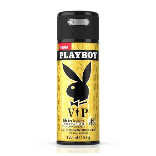 Playboy VIP / Malibu / London / Play It  24h Deodorant Body Spray for Men 150ml