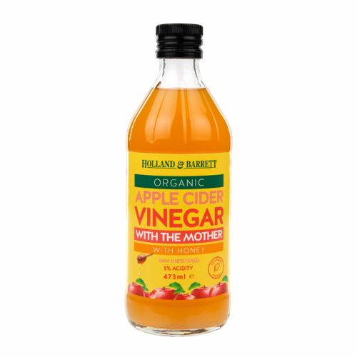 Holland & Barrett Apple Cider Vinegar with The Mother 473ml / 946ml