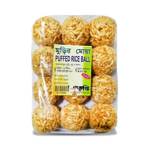 Tripti Puffed Rice Ball 12 pcs