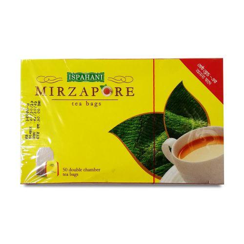 Ispahani Mirzapore Double Chamber 50 Tea Bags