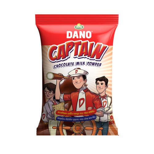 Dano Captain Chocolate Milk Powder 30g / 500g