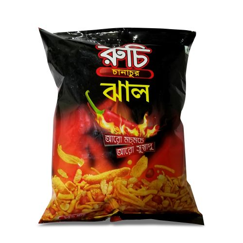 Ruchi Jhal Chanachur Hot & Spicy 35g / 65g / 150g / 350g