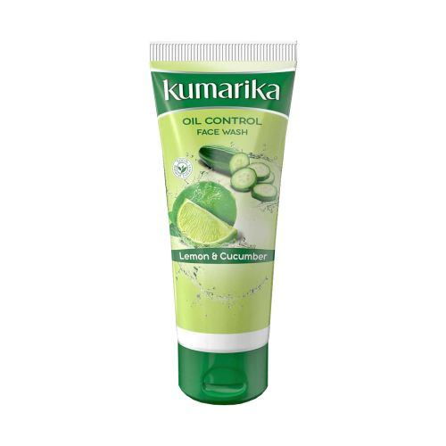 Kumarika Lemon & Cucumber Oil Control Face Wash 50g / 100g