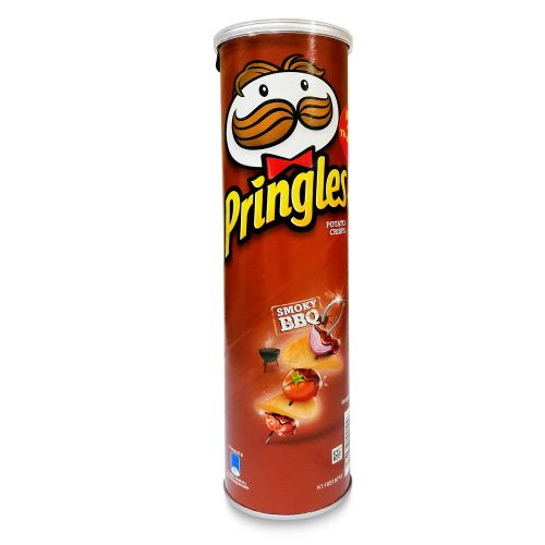 Pringles Smoky BBQ Potato Crisps 147g
