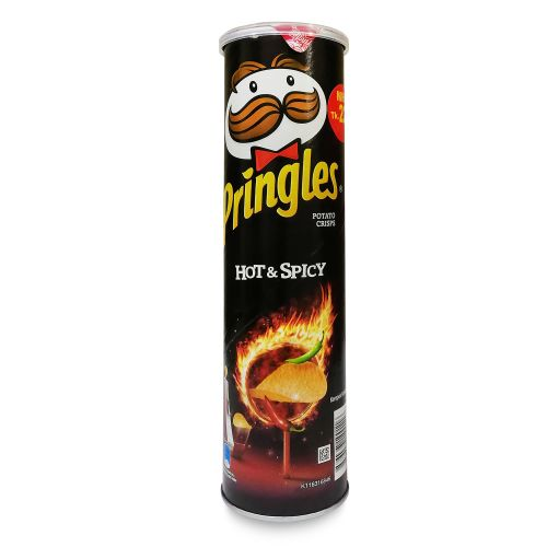 Pringles Hot & Spicy Potato Crisps 147g