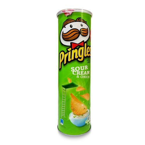 Pringles Sour Cream & Onion Potato Crisps 147g