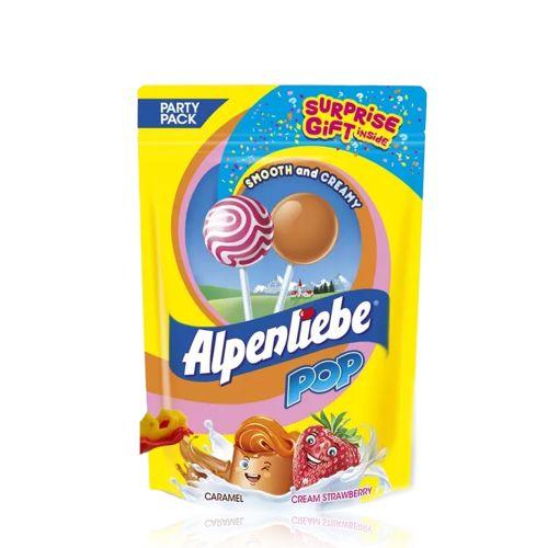 Alpenliebe Pop Party Pack Lollipop Surprise Gift 9 pcs