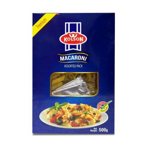 Kolson Macaroni Assorted Pack 500g
