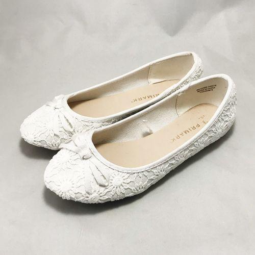 Primark  Flower Black / White Shoe