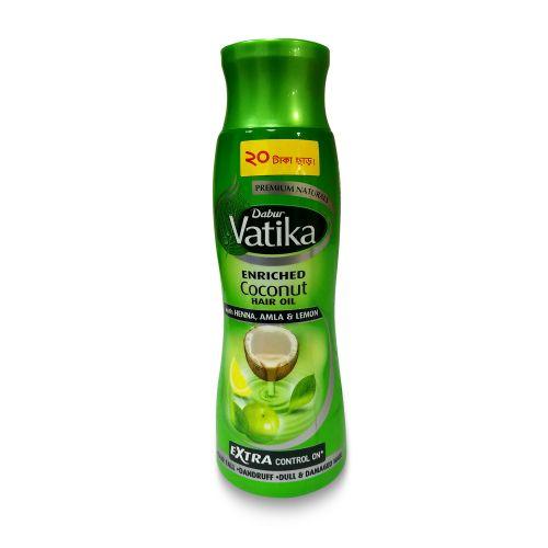 Dabur Vatika Enriched Coconut Hair Oil with Lemon Henna Amla 300ml