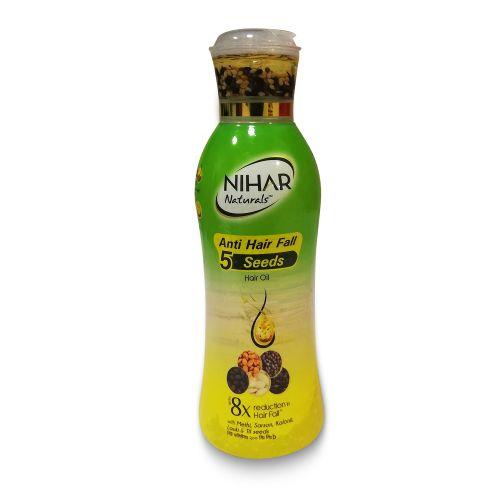 Nihar Anti Hair Fall 5 Seeds Hair Oil 100ml / 200ml
