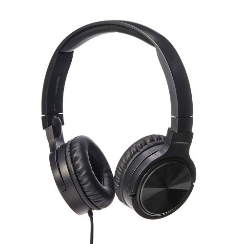 Primark Black Stereo Soft Touch Headphones