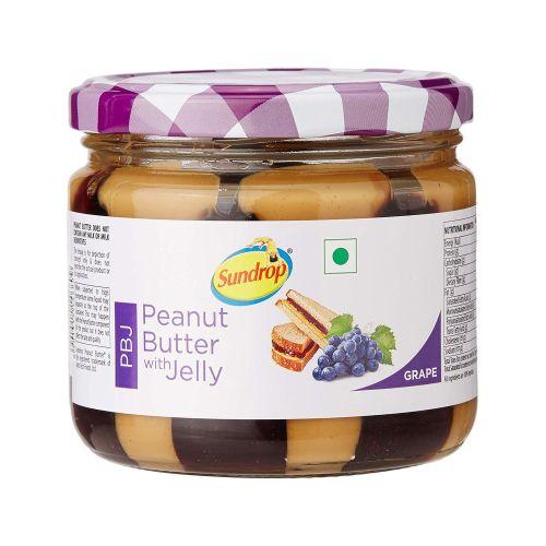 Sundrop Peanut Butter with Jelly Jar Grape 340g