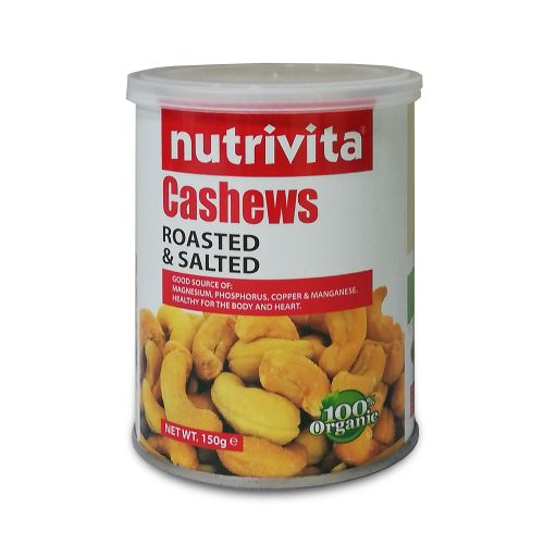 Nutrivita Cashews Roasted & Salted 150g