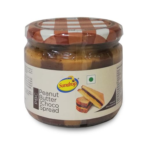 Sundrop Peanut Butter with Almond Chocospread Jar 340g