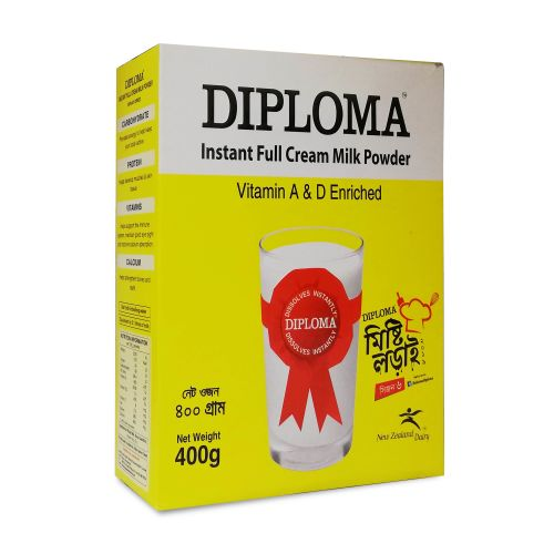Diploma Instant Full Cream Milk Powder 400g