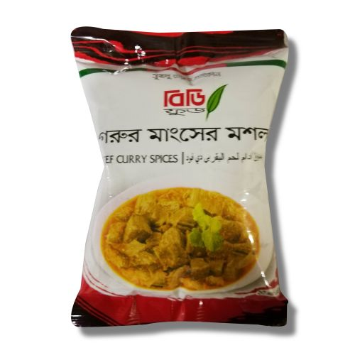 BD Food Beef Curry Spices Pack 20g