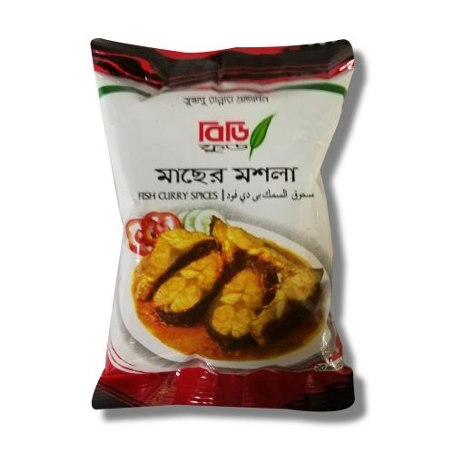 BD Food Fish Curry Spices Pack 20g